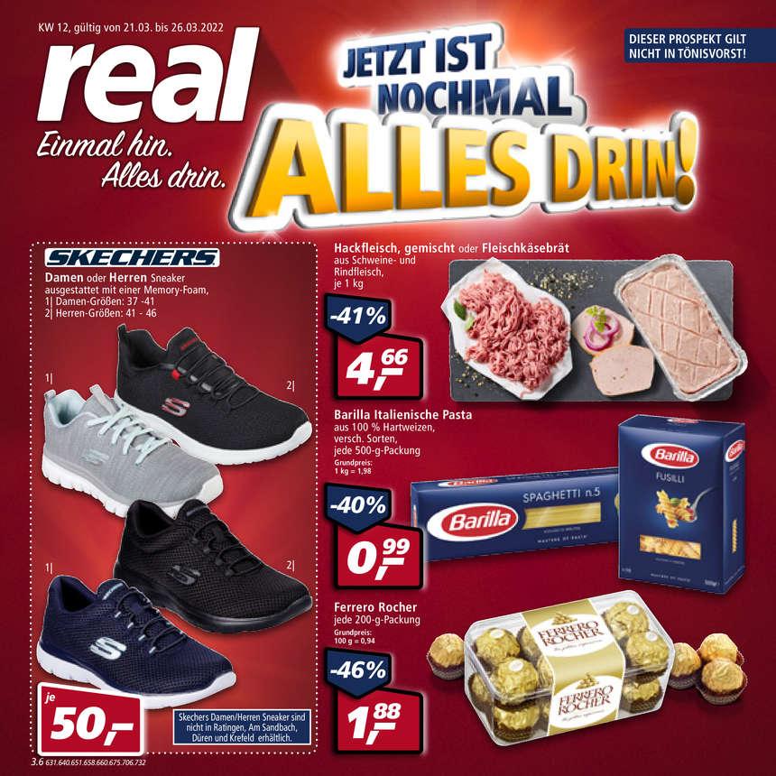 Real In Krefeld Kempener Feldbaakeshof Supermarkt Wiwico
