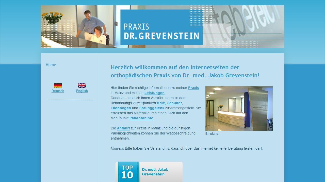 Dr Grevenstein Mainz