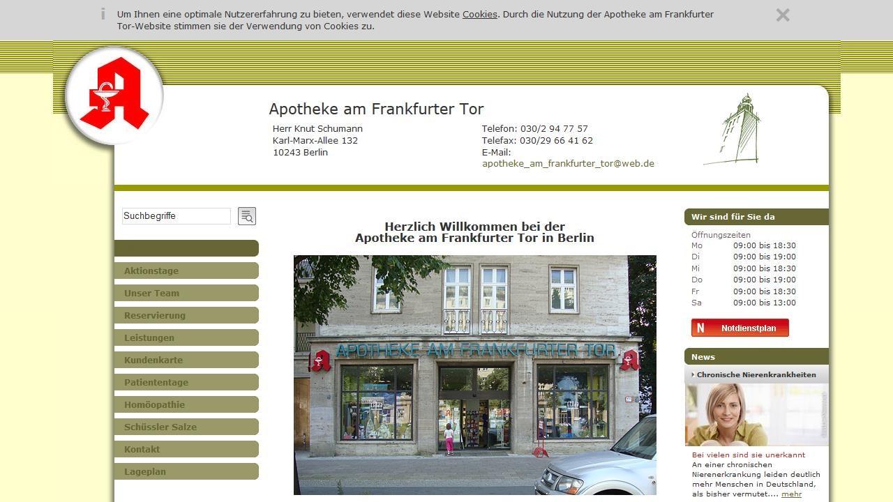 Apotheke Am Frankfurter Berg