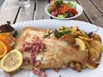 Fisch im Fischrestaurant Seeblick