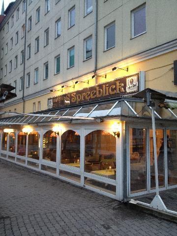 Cafe Und Restaurant Spreeblick Berlin