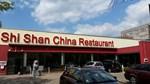 Das Shi Shan China Restaurant von außen mit eigenem Parkplatz
