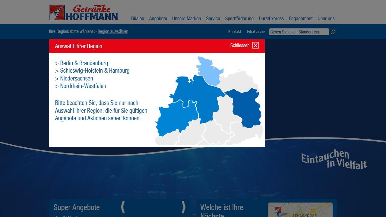 Getränke Hoffmann Oderstraße in Teltow (Getränkemarkt) | WiWico