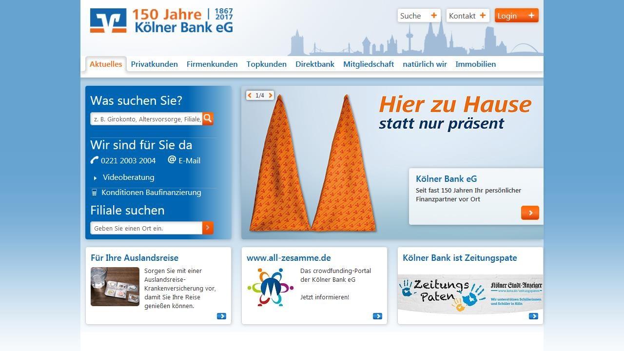 Kölner Bank Geldautomaten