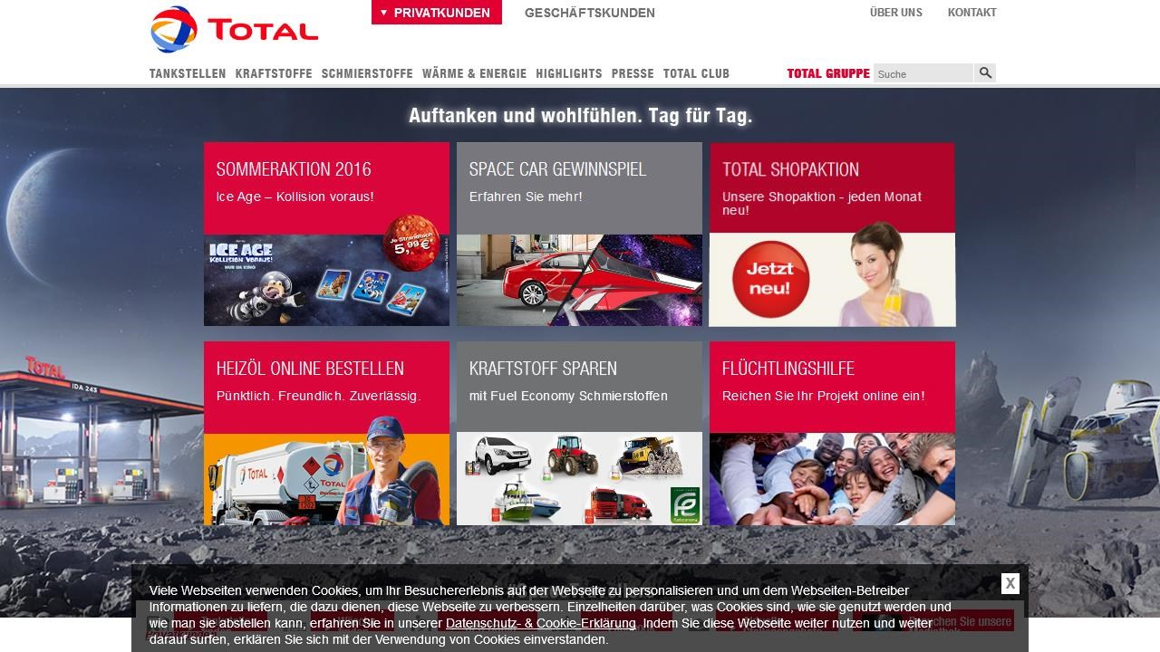 Total Club Anmelden